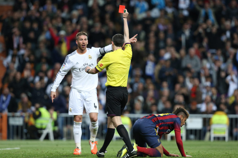 Top 10 most deserved red cards of the decade 3